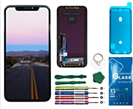 UNUS LCD Digitizer Replacement Kit for iPhone XR, Comes with Tempered Glass Screen Protector and Free Tool Kits (TFT)