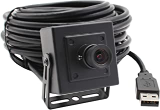ELP 1mp Hd Metal Case Mini USB Camera Webcam with 3.6mm Wide Angle Lens for Building or Industrial Video Security