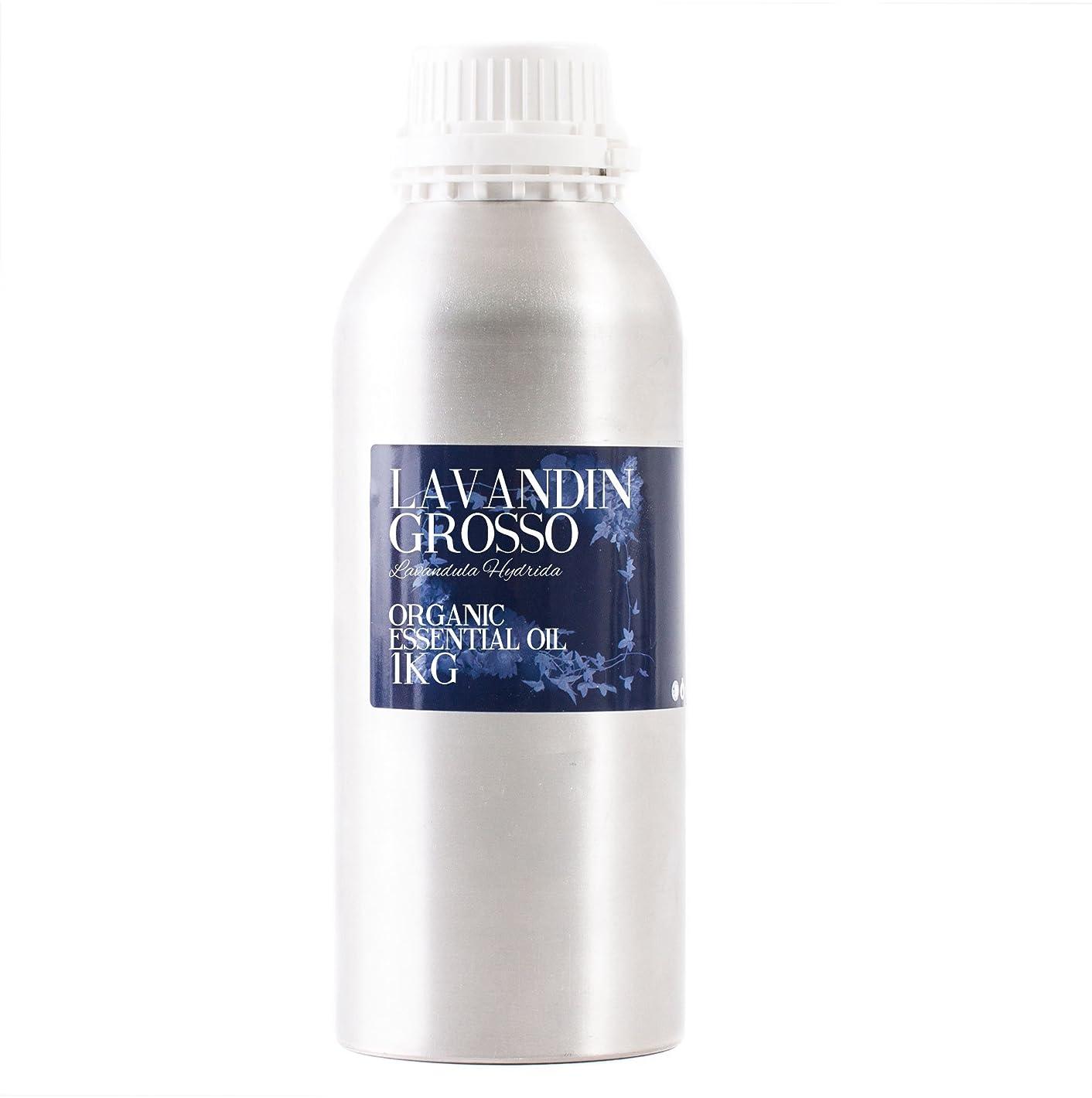 コメンテーター船上ローンMystic Moments | Lavandin Grosso Organic Essential Oil - 1Kg - 100% Pure