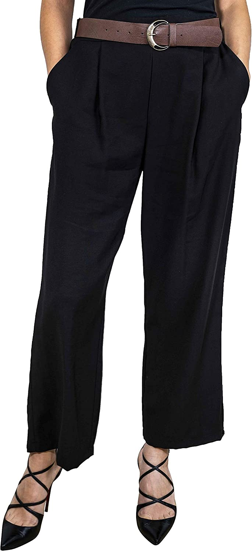 Dixie Women's PBQ9LAQBLACK Black Polyester Pants
