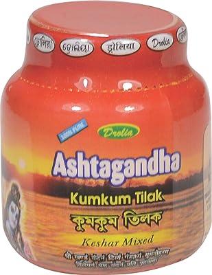 Jalani Chandan Kesher Tilak 100% Pure/Chandan kesher for God/Tilak/Tika Paste,200 gm(50gm x 4)