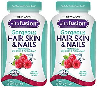 Gorgeous Hair, Skin & Nails, 135 Count (2 Bottles)