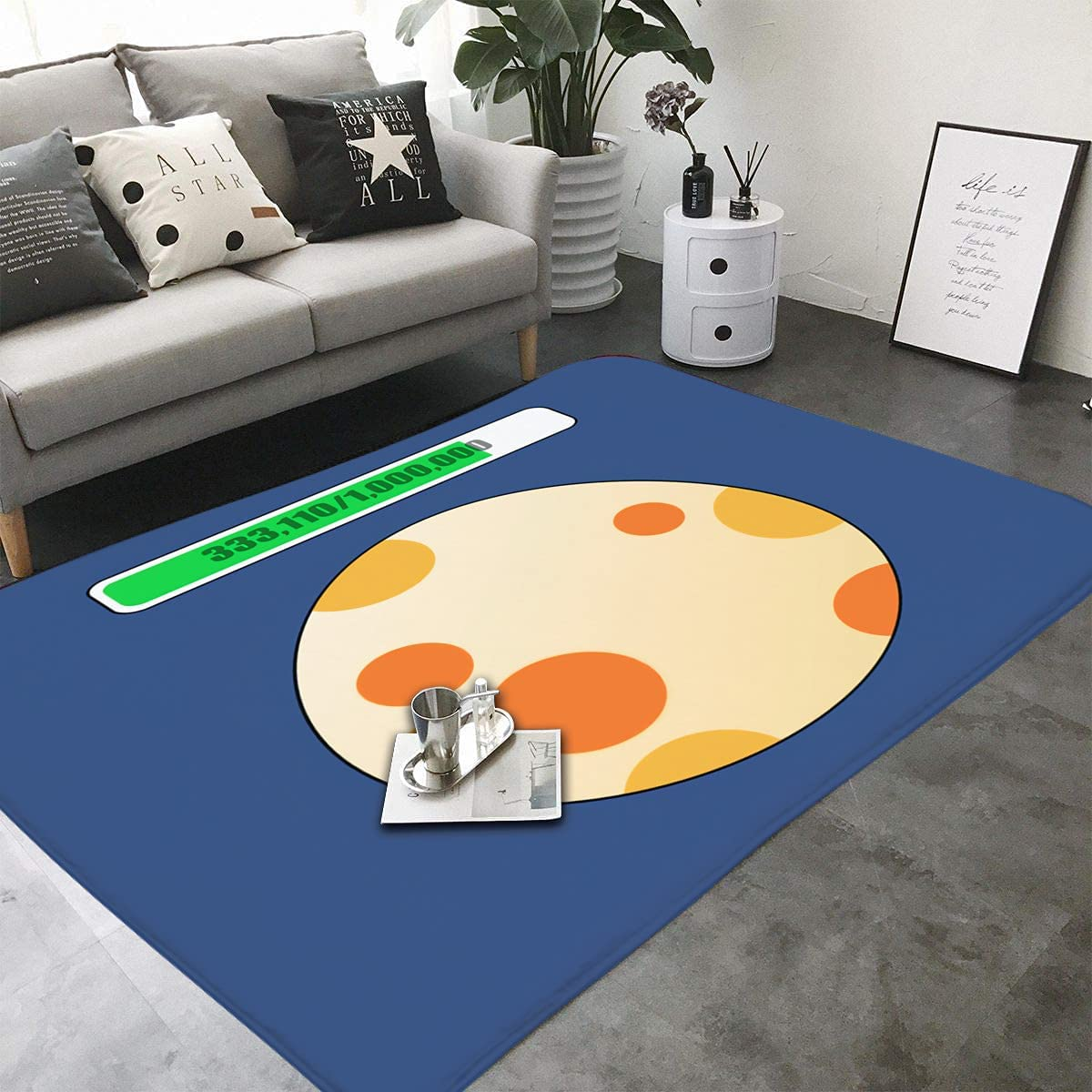I Hope It's A Dedication Shiny-Kids Rugs Bedroom for Chair Playroom Special sale item Carpet