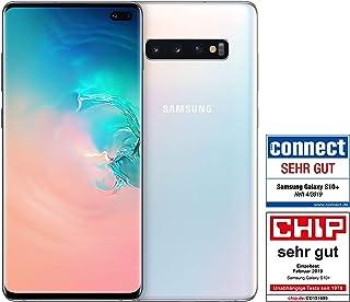 Samsung 三星 Galaxy S10+ 双 SIM 棱镜黑色 DE 版本-P-DESM-G975FZWDDBT 德语版本 128GB Ceramic White