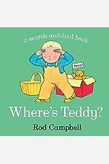 Where's Teddy? Board book