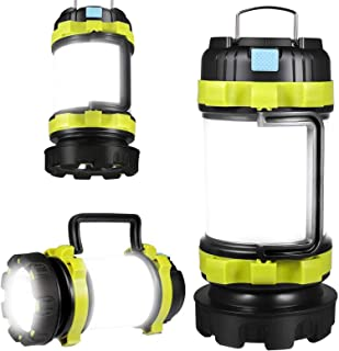 Rechargeable LED Camp Lantern USB Charge Portable Brightest Camping Light with 800LM 4 Modes IPX45 Water Resistant Lightwe...