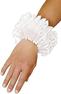 Ruffled Wrist Cuffs