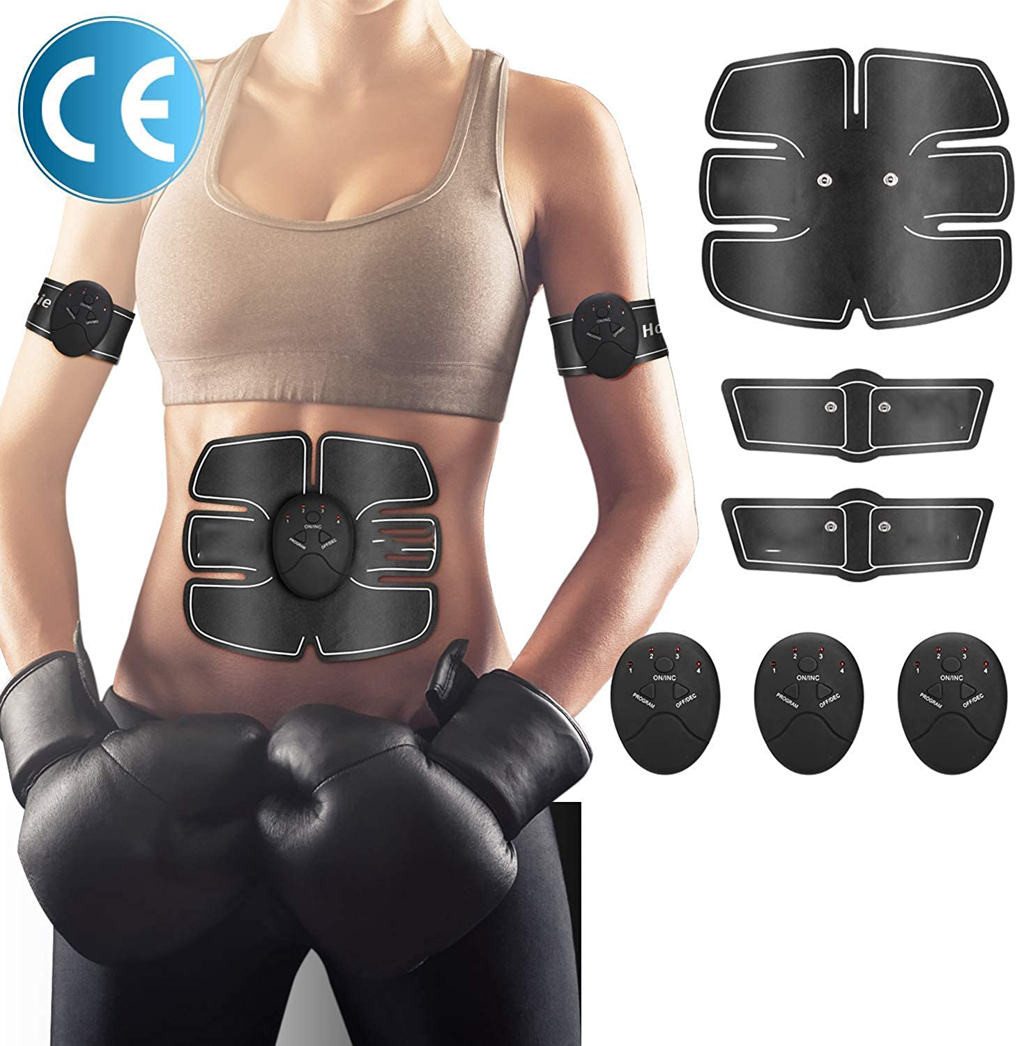 Abs Stimulator, Muscle Toner, Abdominal Muscle Toner, Abs Muscle Stimulator, Abs Trainer, Abs Stimulator Muscle Toner, Abs Stimulator for Men Women, Abs Stimulator Muscle Trainer