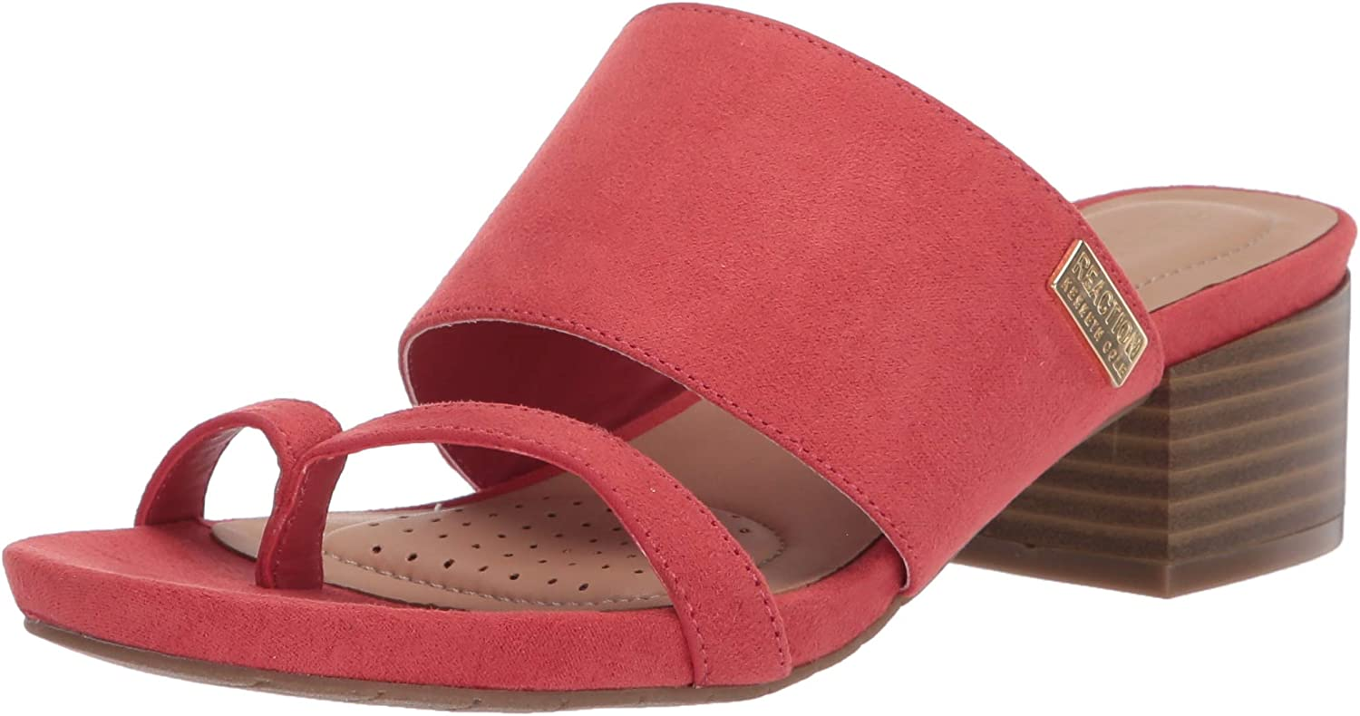 Kenneth Cole REACTION Fashionable Ranking TOP13 Women's Two-Band Sandal Heeled