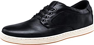 JOUSEN Men's Causal Shoes Business Leather Fashion Sneakers Oxford Shoes for Men