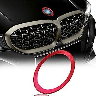 Xotic Tech 1 × غطاء محرك السيارة الأمامي الخلفي شعار جذع العلامة المحيطة الدائري BMW 1 3 5 6 7 Z X Series ، ديكور خارجي تل...