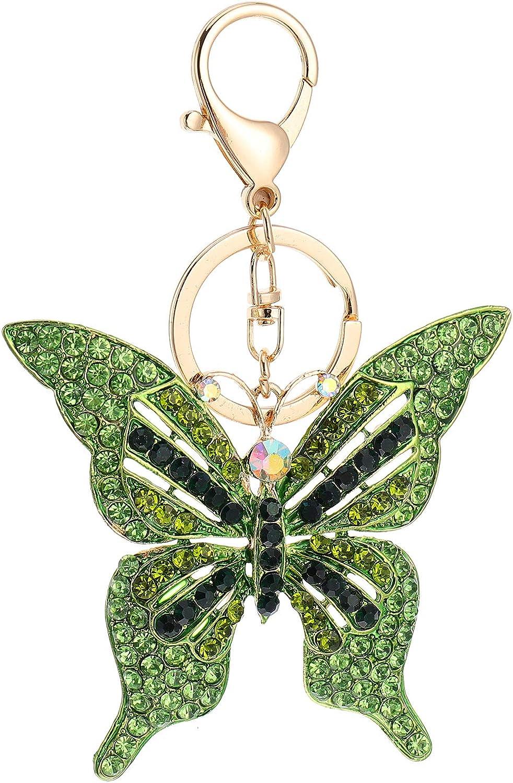ABOOFAN Butterfly Key Chains Butterfly Key Chain Pendants Alloy Key Chain Pendant Gifts for Women