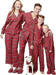 Pyjama Noel Enfant Adulte Vintage Famille Pyjamas