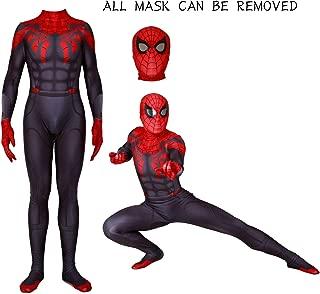 Unisex Lycra Spandex Zentai Halloween Spider Cosplay Costume Adult/Kids 3D Style