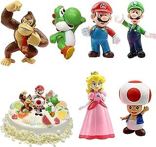 WELLXUNK® Super Mario speelgoed, Super Mario Brothers, Super Mario speelgoedfiguren, set Super Mario speelgoed, verzamelfi...