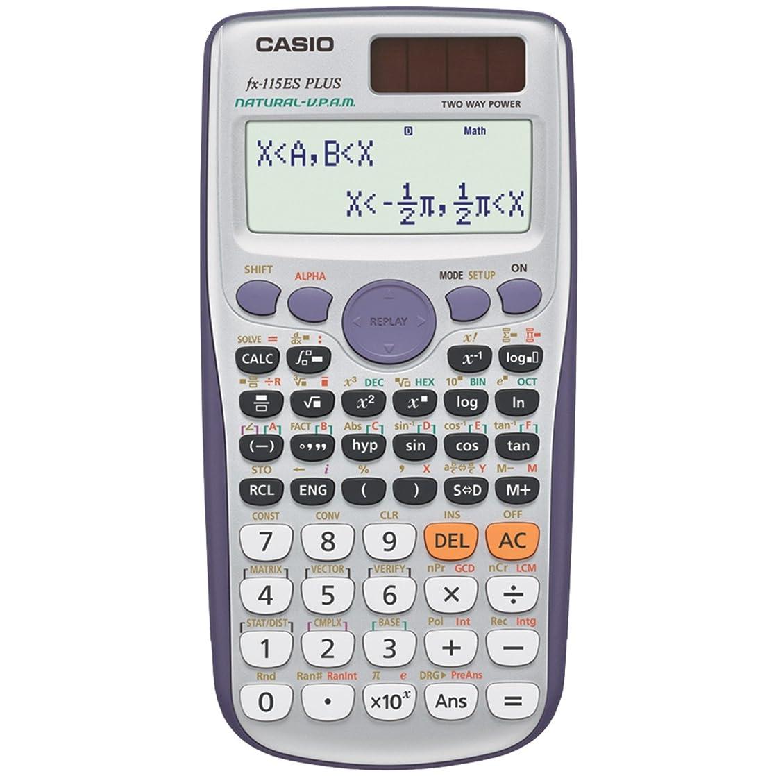 講義若者公平Casio FX-115ESPLUS 科学電卓 並行輸入品