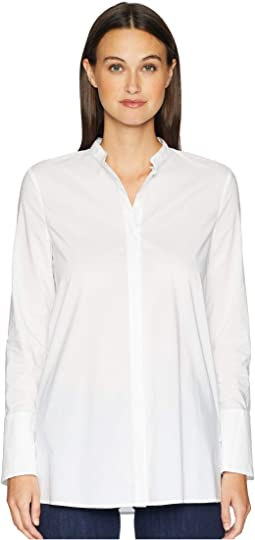 Nalisy Mock Collar Button Up