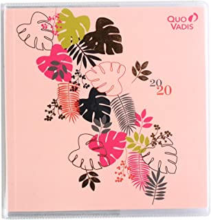 Quo Vadis Jungle Spirit Executive Weekly Planner 16 x 16 cm Pages Year 2020