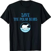 Save The Polar Bears Animal Conservation T-Shirt