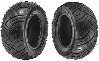 WPHMOTO Set of 2 Go Kart Tires 13x5.00-6 Front Rear Tubeless Tire Replacement for ATV Quad Buggy 4 Four Wheelers
