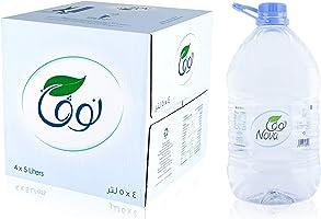 مياه نوفا معباة 4x5 لتر