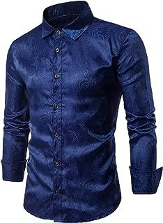 Casual Long Sleeve Paisley Vintage Shirt