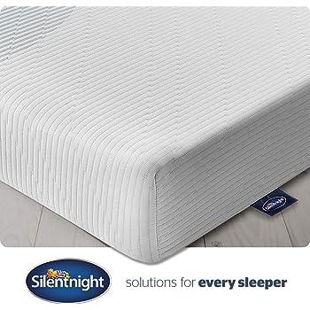 Silentnight 3 Zone Memory Foam Rolled Mattress, Made in the UK, Medium, UK King