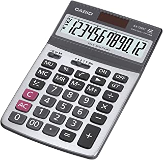 Casio AX-120ST Value Series - Desk Top/Compact Desk Type Calculator, 0.17 kilograms