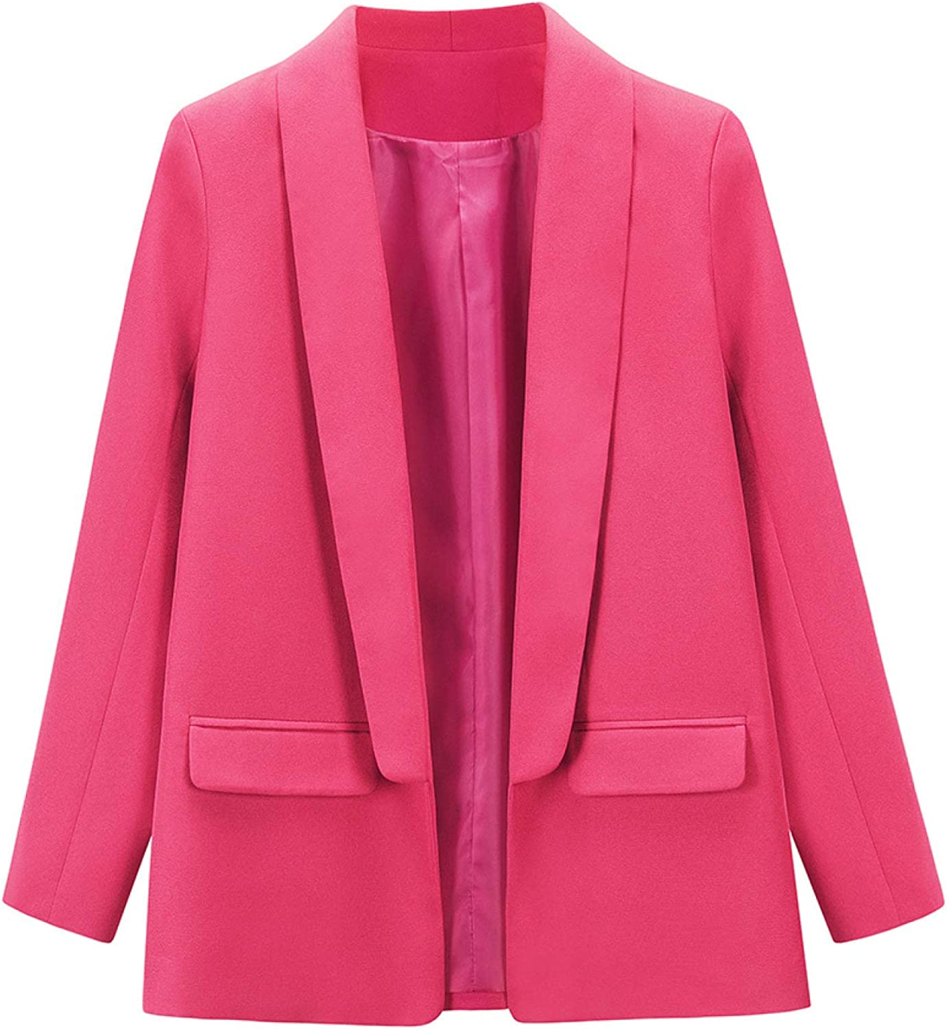 Ladies Slim Fit Solid Color Suit Elegant Busi Notch Special price for a Courier shipping free shipping limited time Lapel Jacket