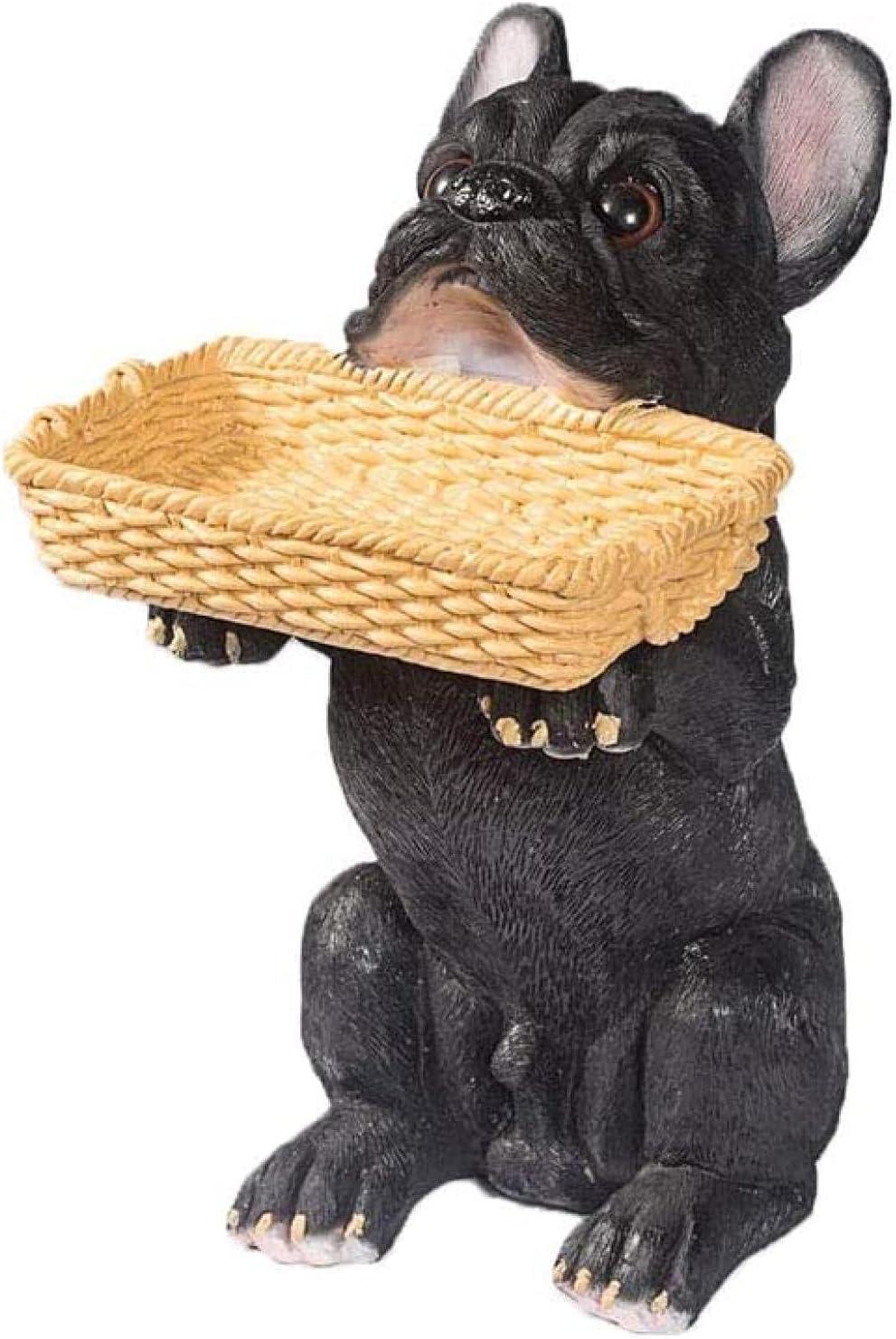 Modern Minimalist Max 62% OFF Resin Lucky Dog Porch Cabinet Tray Su San Antonio Mall Key Shoe