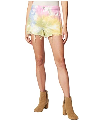 Blank NYC The Barrow Hi Rise Tie-Dye Shorts (Wonder Wheel) Women