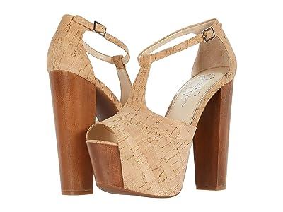 Jessica Simpson Dany (Natural) High Heels