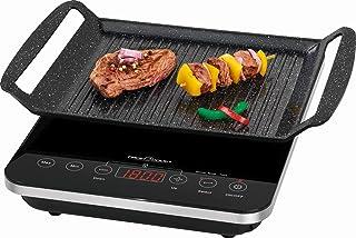 Plaque de cuisson à induction individuelle électrique avec plaque de cuisson (grill de table, plaque de cuisson, grill éle...