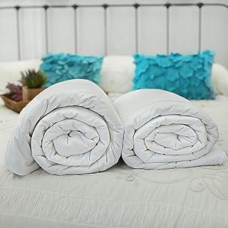 Silk Bedding Direct Deux Couettes en Soie de Mûrier. ÉTÉ ET Printemps/Automne. Continental Queen Size. 240 cm x 220 cm. Hy...