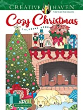 Creative Haven Cozy Christmas Coloring Book