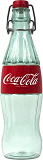 Cool Gear Swing Top Coca-Cola Bottle, 16 oz, Clear and Red