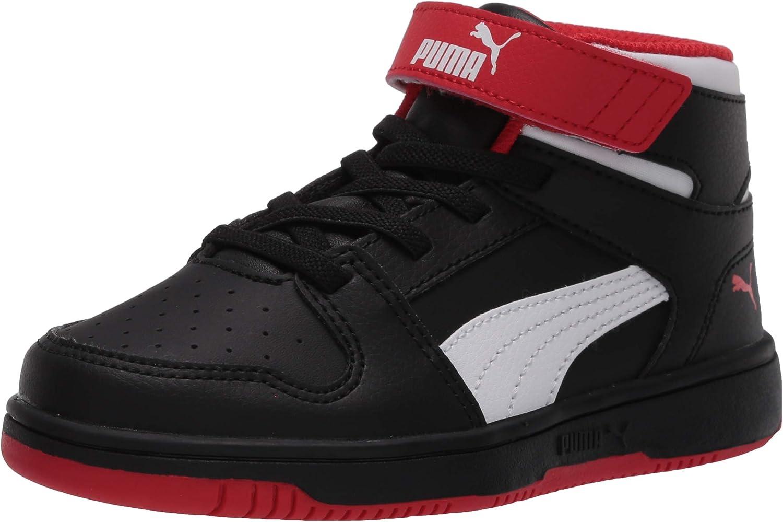 PUMA Unisex-Child Rebound shop Layup Memphis Mall and Hook Loop Sneaker