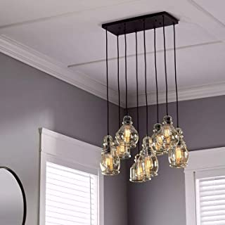 Linear Chandelier Centerpiece For Dining Rooms And Kitchen Areas | 24