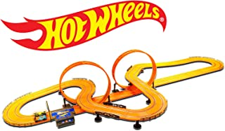 Hot Wheels Slot Car Track Set - Features 30 Feet of Track