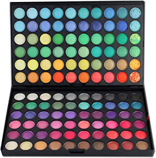 RoseFlower Pro 120 Colors Eyeshadow Makeup Palette Cosemetic Contouring Kit #1 - Ideal for Professional and Daily Use