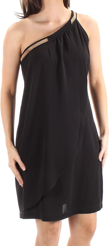 Jessica Simpson Women's One Shoulder Cocktail Dress