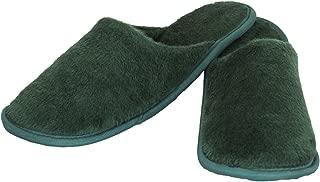 Old Cobbler Women's Mint Green Fur House Slippers