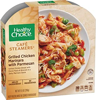 Healthy Choice Cafe Steamers Grilled Chicken Marinara with Parmesan, 9.5 Ounce -- 8 per case.