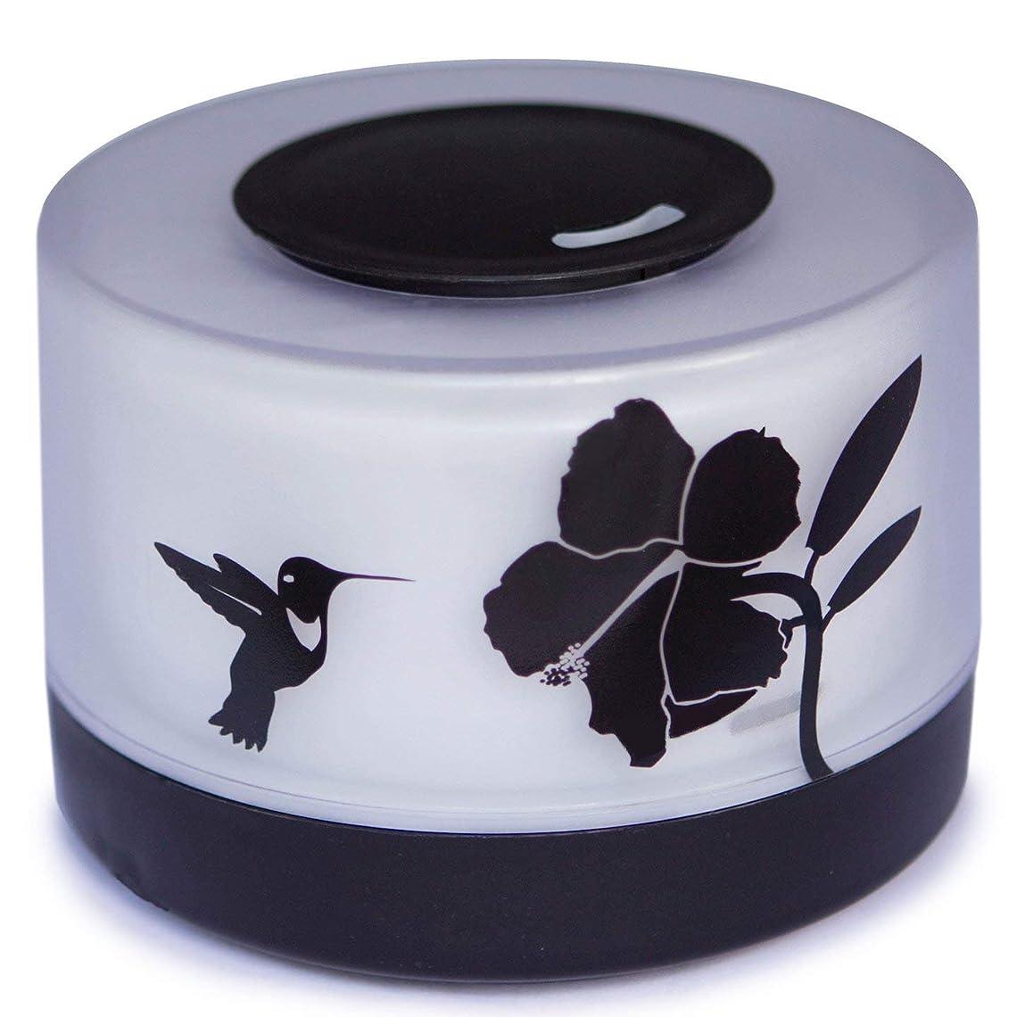 章生き物繁殖【Amour@Home】超音波式 アロマディフューザー 大容量 加湿器 500ml (ハチドリ)