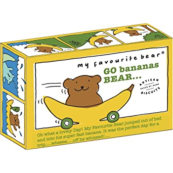 Artisan Biscuits My Favourite Bear Banana Bear Fun Biscuits, 300 g, Lot of 3