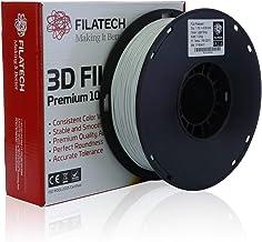 Filatech PLA Filament, Light Grey, 1.75 mm, 1 Kg