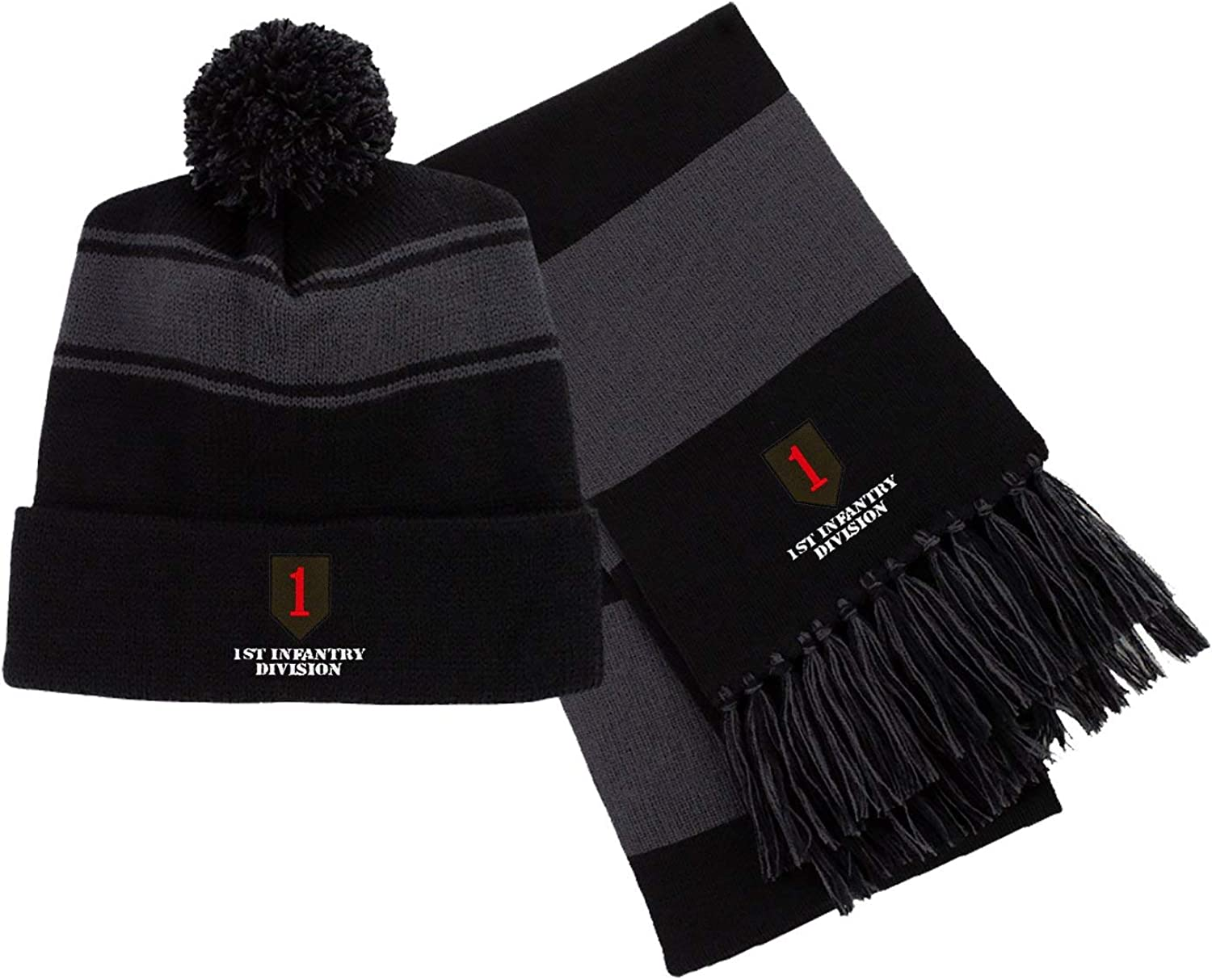 1st Infantry Division Embroidered Beanie/Scarf