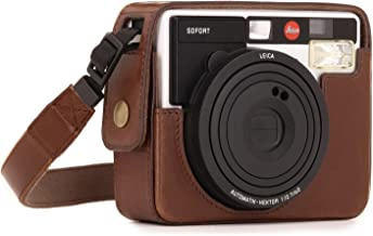 Megagear MG1295 Ever Ready Leather Camera Case, Bag, Protective Cover for Leica Sofort Instant, Dark Brown