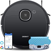 Ecovacs DEEBOT OZMO 920 2in1 Mopping Robotic Vacuum with Laser Navigation, No-Go Zones, Systematic Cleaning, Multi-Floor M...