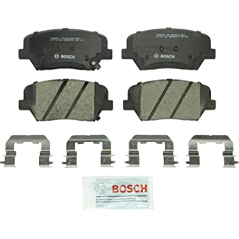 With Two Years Manufacturer Warranty Front Disc Brake Rotors and Ceramic Brake Pads for 2017 Kia Sorento Brake Pads Include Hardware